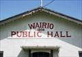 Image for 1936 — Wairio Public Hall — Wairio, New Zealand