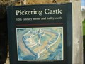 Image for Pickering Castle, North Yorkshire, England