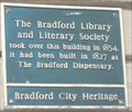 Image for Bradford Library And Literary Society Building - Bradford, UK