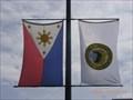 Image for Makati Municipal Flag - PHILIPPINES