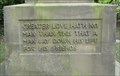 Image for John 15:13 – Saltaire WWI Memorial – Saltaire, UK
