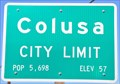 Image for Colusa ~ Elevation 57