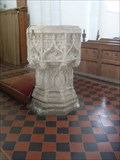 Image for Font, Church of St.Mary the Virgin, The Causeway, Walsham le Willows, Suffolk. IP31 3AA.