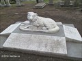 Image for Dog on Perkins Family Grave - Mt. Auburn Cemetery - Watertown, MA