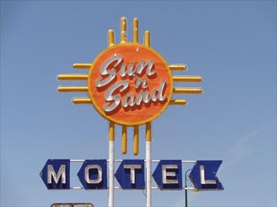 veritas vita visited Sun-N-Sand Motel