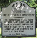 Image for The Butterfield Stage Route - Van Buren, AR