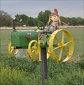 Image for John Deere Tractor with Farmer