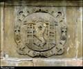 Image for Velvary CoA on Prague Gate portal / Znak Velvar na portálu Pražské brány - Velvary (Central Bohemia)