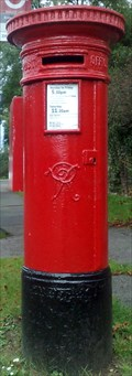 Image for Victorian Post Box, Harfield Road, Sunbury, Surrey UK