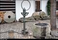 "Image for Hand pump at ""At the Cancer"" Hotel / Rucni pumpa u hotelu ""U Raka"" - Nový Svet (Prague)"