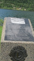 Image for Mounted Plaque - Lakeside Park - Nelson, BC