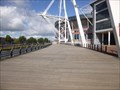 Image for River Taff Boardwalk - Cardiff, Capital of Wales.
