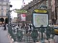 Image for Station de Metro Palais Royale - Paris, France