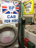Image for 1950's Petrol Pump, Museum, Terrace Road, Aberystwyth, Ceredigion, Wales, UK