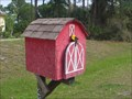 Image for BIG Red Barn Mailbox - North Port, Florida