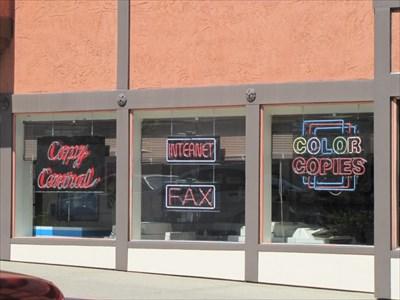 Copy Central Neon, Berkeley, CA