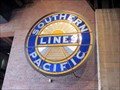 Image for Southern Pacific Emblem - On Display at the California State Railroad Museum, Sacramento, CA