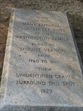 Image for Mount Vernon Slave Memorial and Burial Ground