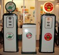 Image for Vintage Sinclair Gas Pumps at COSI  -  Columbus, OH