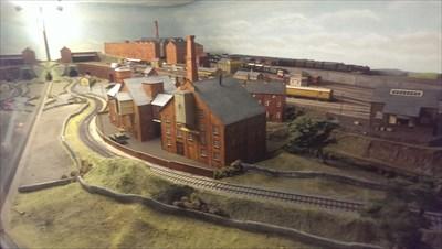 Model Railway - National Railway Museum - Great Britain.