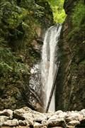 Image for Wasserfall am Schmugglerweg - Schleching, Lk. Traunstein, Bayern, D