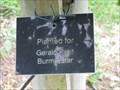 Image for Gerald Pratt - Burma Star - Memorial Tree - The National Memorial Arboretum, Croxall Road, Alrewas, Staffordshire, UK