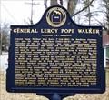 Image for General Leroy Pope Walker - Moulton, AL