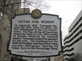 Image for Votes For Women - Nashville, Tennessee