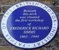 Image for Frederick Richard Simms - Ranelagh Gardens, London, UK