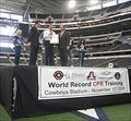 Image for Largest CPR training session - Cowboys Stadium - Arlington Texas