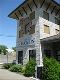 Image for Rocklin Train Station Clock - Rocklin, CA