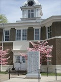 Image for Morgan County Courthouse WWII Memorial  -  West Liberty, KY