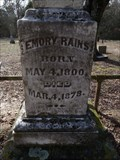 Image for Emory Rains - Emory City Cemetery - Emory, TX