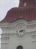 Image for Hodiny na vezi kostela - Modrice, Czech Republic