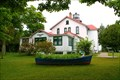 Image for Row boat planter at Grand Traverse Light House MI