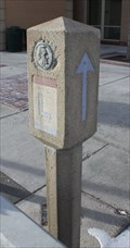 Image for Lincoln Highway Marker -- Cheyenne WY