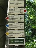 Image for Elevation Sign - Zubštejn Castle Ruin, Czech Republic. 670 m