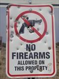 Image for No firearms - Grand Canyon, Arizona.