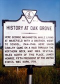 Image for History of Oak Grove