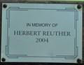 Image for Herbert Reuther ~ Bismarck, North Dakota