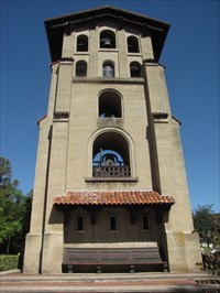 El Campanil from Back, Mills College, Oakland, CA