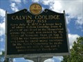 Image for Calvin Coolidge - Plymouth Notch, VT