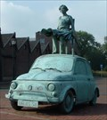 Image for Lady on a Fiat 500