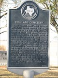 Image for Richland Cemetery