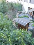 Image for Calif State University Sacramento --Library garden -- California