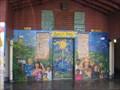 Image for People's Park restroom murals - Berkeley, CA