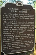 Image for Milwaukee County's First Airport - Wauwatosa, WI