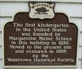 Image for First Kindergarten Historical Marker
