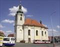 Image for kostel sv. Aloise Gonzagy, Uhlírské Janovice, Czech republic