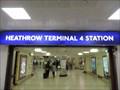 Image for Heathrow Terminal 4 Underground Station - Heathrow Airport, London, UK